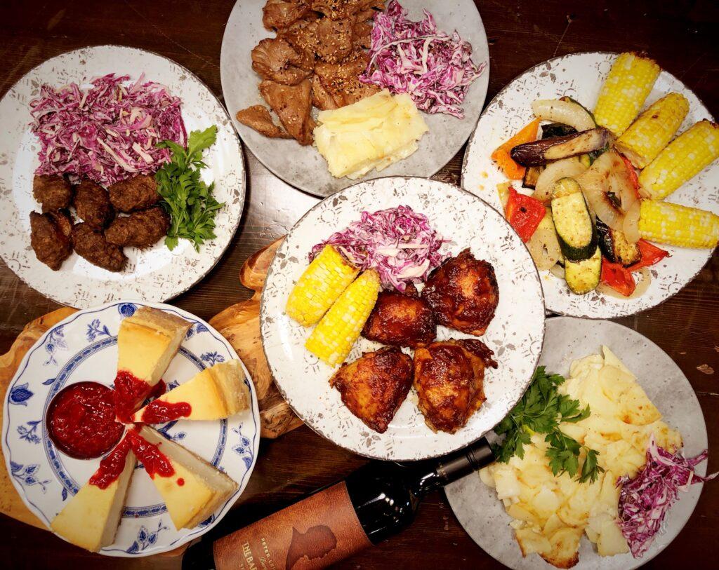 canada day bbq feast
